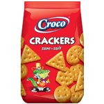 Croco Crackers Salt 100 gram